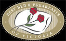 best bed & breakfast of victoria logo